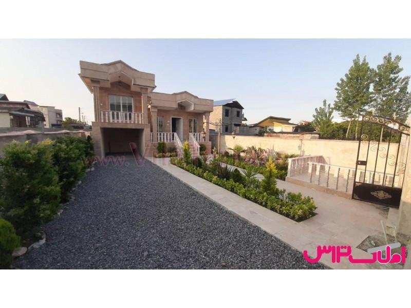 ویلا چمستان روستایی 240 متری کد 393