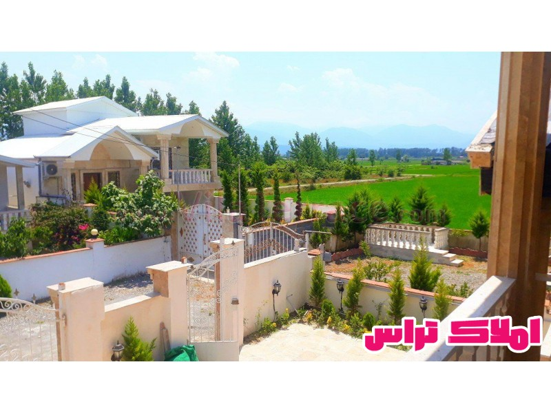 ویلا چمستان روستایی 280 متری کد 415