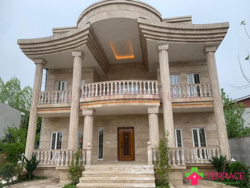 ویلا آمل روستایی 750 متری کد 663