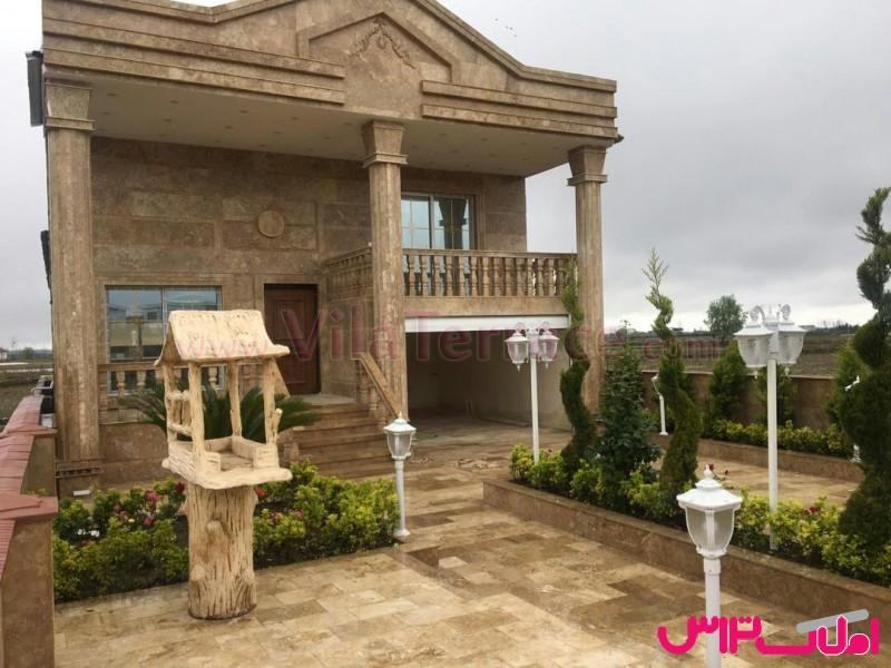 ویلا آمل روستایی 290 متری کد 381
