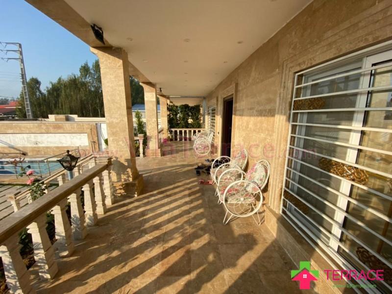 ویلا محمودآباد روستایی 500 متری کد 653