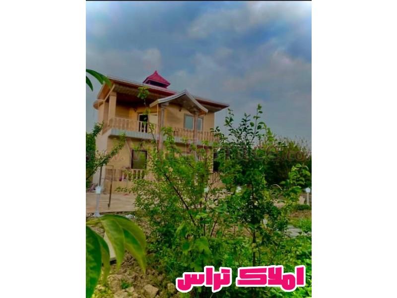 ویلا چمستان روستایی 550 متری کد 517