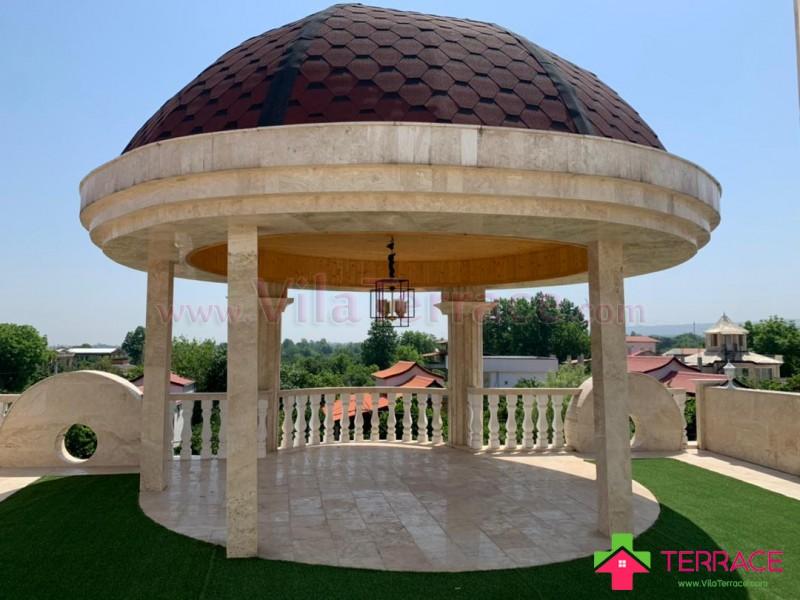 ویلا محمودآباد روستایی 450 متری کد 685